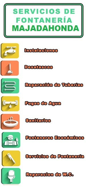 servicios de fontaneria en majadahonda