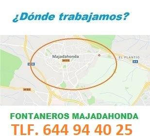 Fontaneros Majadahonda Calle San Isidro