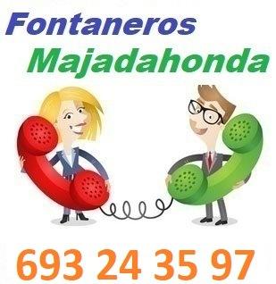 Telefono de la empresa fontaneros Majadahonda