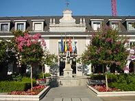 Ayuntamiento en la localidad de Majadahonda